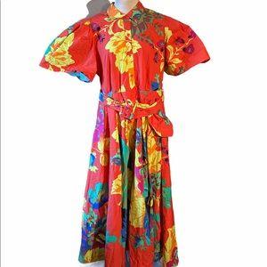 Christopher John Rogers Target Floral Shirt Dress